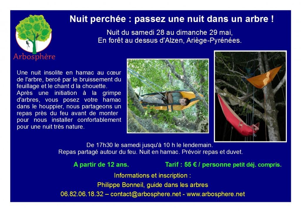 flyer nuit perchée 28-29 mai
