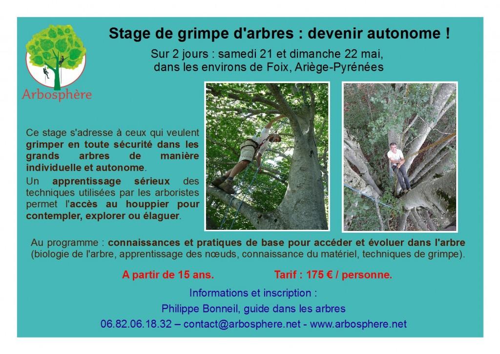 flyer stage autonomie 21-22 mai
